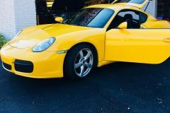 yellow car doors
