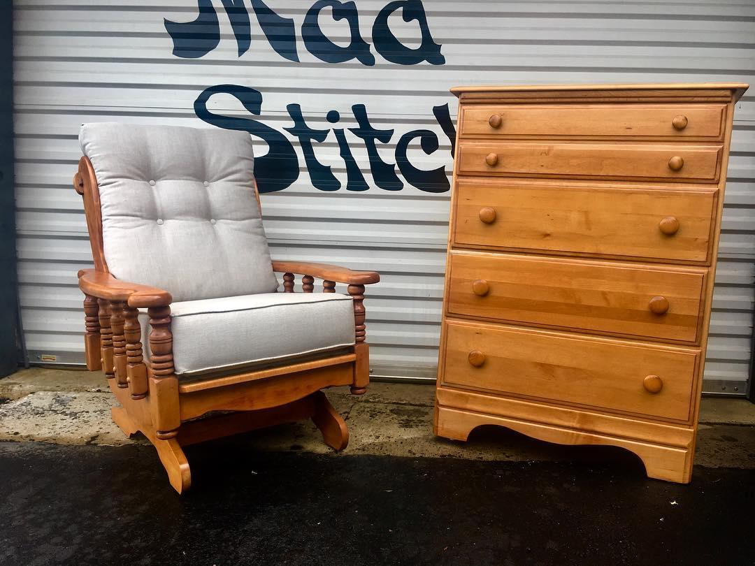 furniture rocking dresser