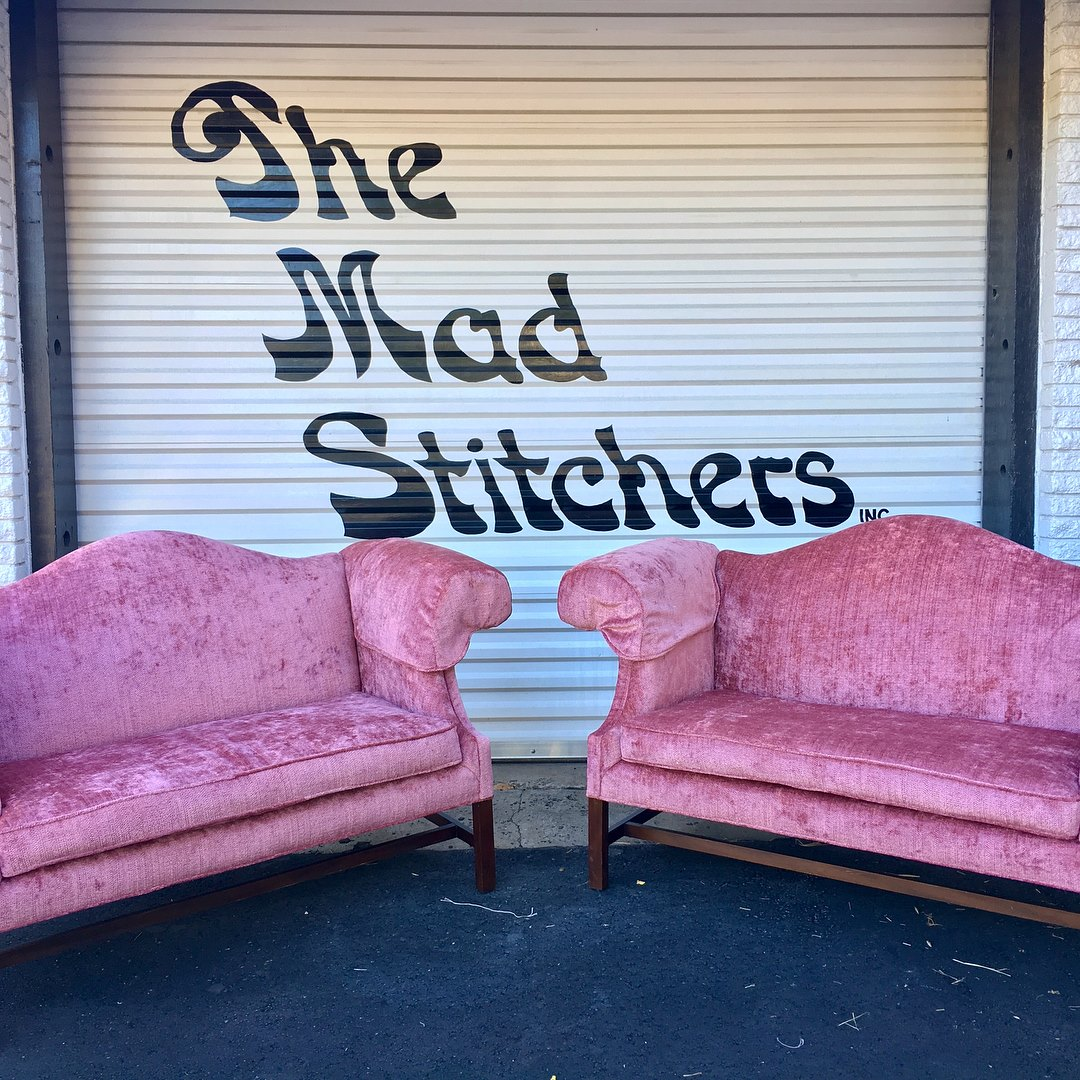 pink couches